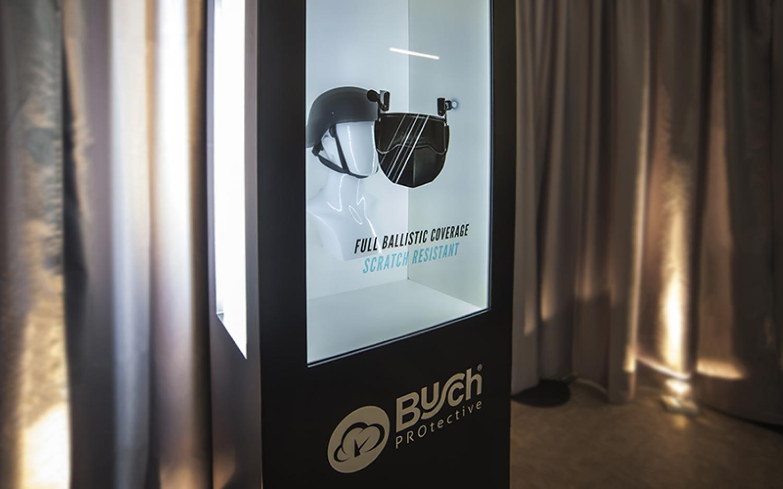 Unser innovatives Präsentationsmodul, das Transparent Display | Stuckmann GmbH - Raum und Event