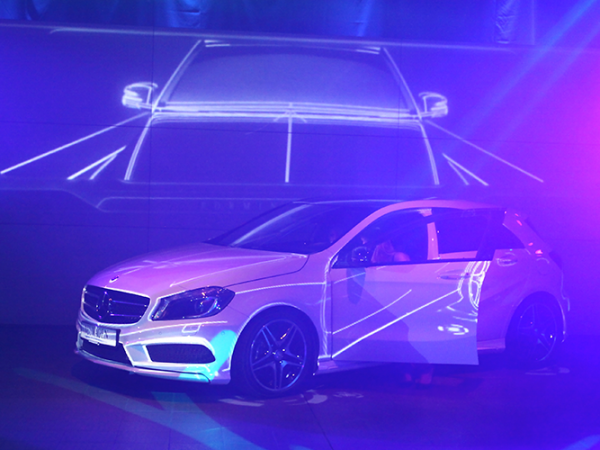 Mercedes-Benz Ostendorf  | 3D Projection Mapping