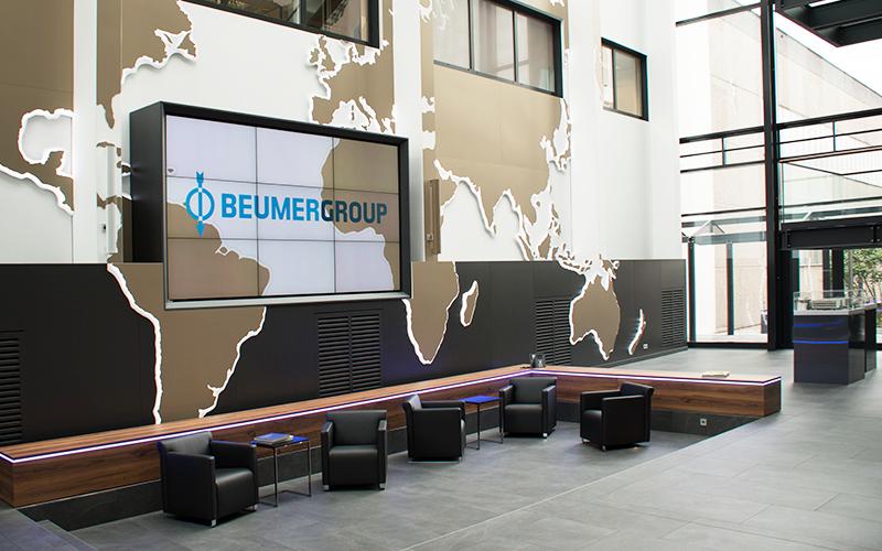Beumer, Festinstallationen | Stuckmann GmbH – Raum und Event
