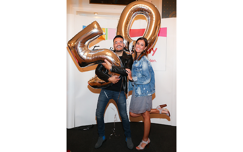 800x500_Ernstings Family_Jana Ina und Giovanni Zarrella feiern 50 Jahre Ernsting's family